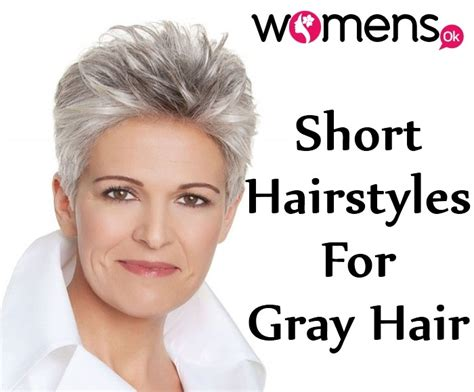 8 Short Hairstyles For That Looks Perfect On Grey Hair