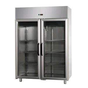 upright fridge stainless steel aisi  ventilated cooling mod bgetnpv capacity lt