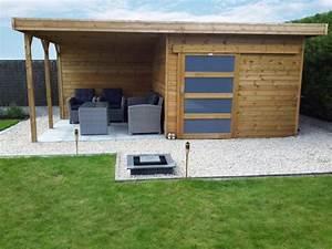 les 25 meilleures idees de la categorie abri jardin toit With delightful maison toit plat bois 5 les 25 meilleures idees de la categorie garage toit plat