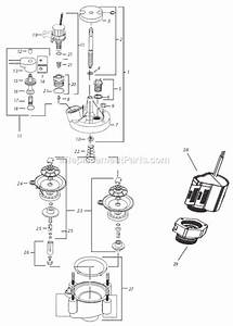 Rain Bird 100pe Parts List And Diagram   Ereplacementparts Com