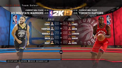 nba  team ratings raptors  warriors nba finals