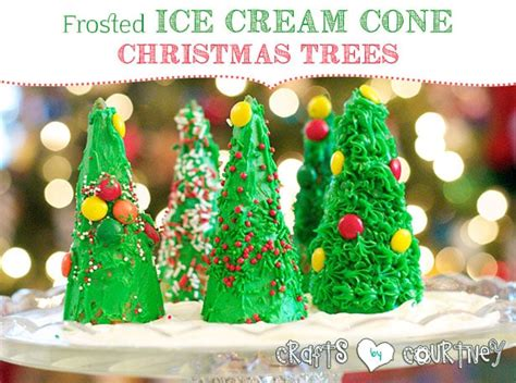 fun   edible christmas tree craft