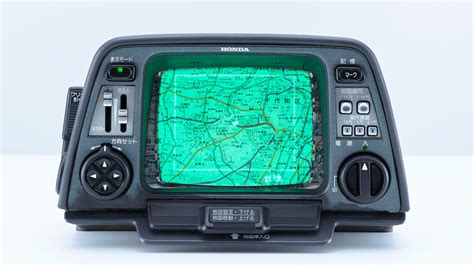 The World's First In-car Gps Looked Like Something From
