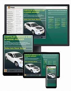 Chrysler Sebring  200    Dodge Avenger Online Service
