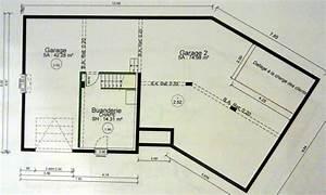 nos plans maison demi sous sol demi niveau 115m2 51 With plan maison demi niveau