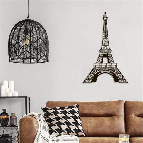 Shanghai ema home decor co. Metal Wall Art Geometric Eiffel Tower Home Decor, Metal Wall Decor, Wall hanging metal ...