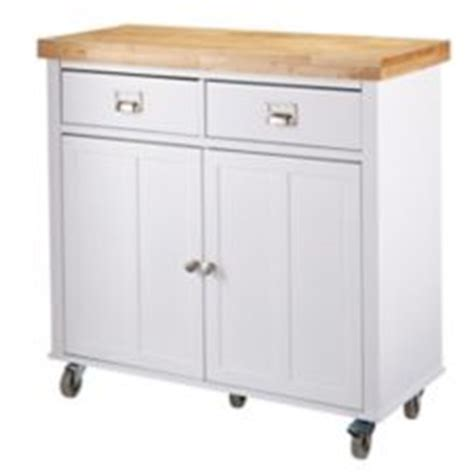 Canvas Mayfield Kitchen Cart, White  Canadian Tire