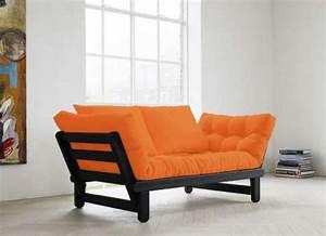 Canapé 1 Place : photos canap futon convertible 1 place ~ Teatrodelosmanantiales.com Idées de Décoration
