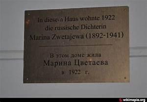 In Diesem Haus : in diesem haus wohnte russische dichterin marina tsvetaeva berlijn ~ Orissabook.com Haus und Dekorationen