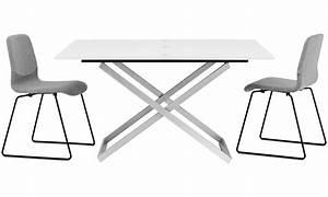 Table Basse Multifonction : tables basses table basse multifonction extensible rubi ~ Premium-room.com Idées de Décoration