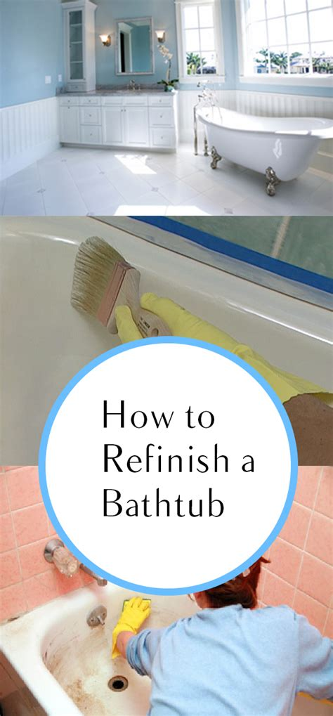 how to resurface a bathtub how to refinish a bathtub how to build it