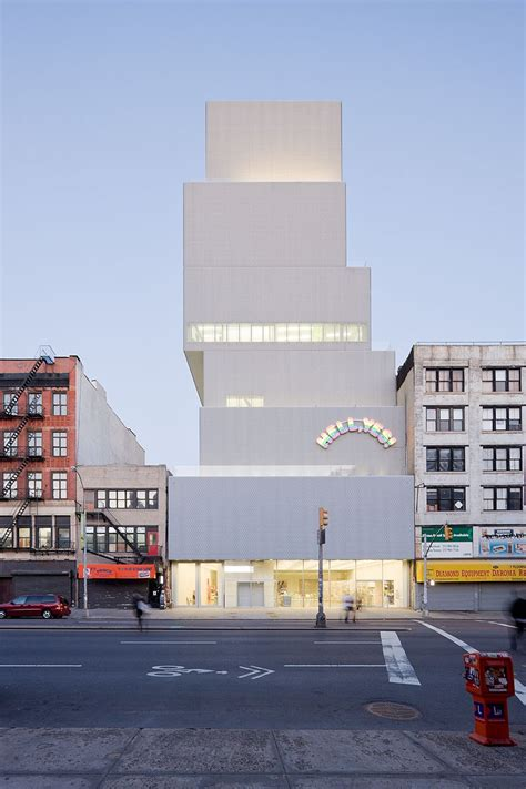 New Museum, New York City Usa  Sanaa  Iwan Baan