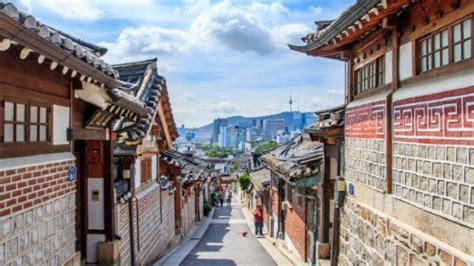 tempat wisata gratis  korea selatan lokasinya tak