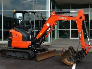 Kubota Mini Excavator Attachments
