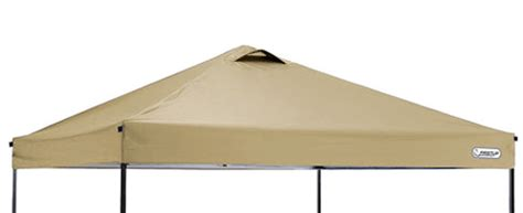 ozark trail    ez pop  canopy tan replacement top  hutshopcom