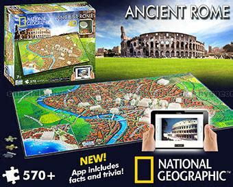4d National Geographic  Antikens Rom, 580 Bitar