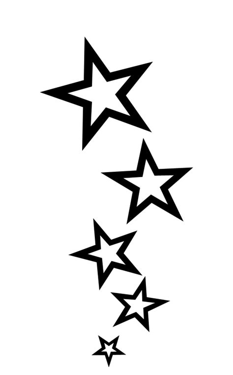 star  swirl tattoo designs clipartsco