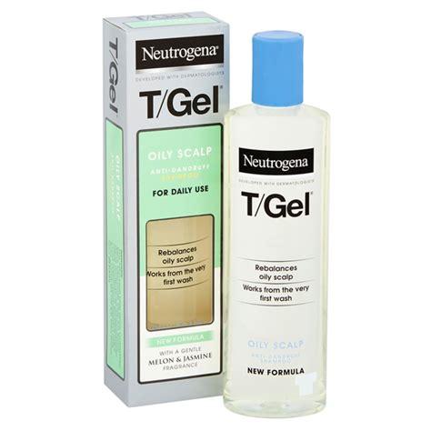 buy neutrogena tgel greasy hair shampoo ml chemist direct