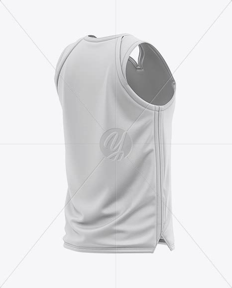 Dear visitor, you are browsing our website as guest. Men's Basketball Jersey Mockup - Back Half Side View in ...