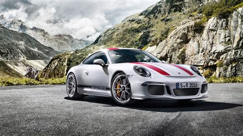 Fahrstunde Im Neuen Porsche 911 R Gefällig?