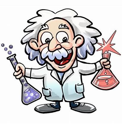 Einstein Albert Scientist Science Cartoon Clipart Club