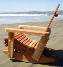 project working share double adirondack glider chair