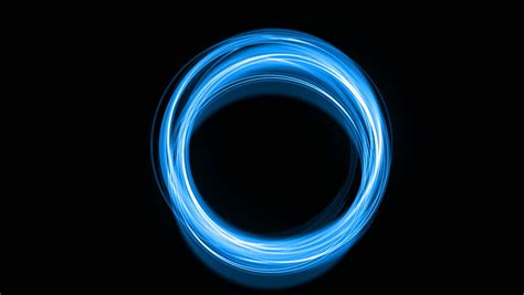 Abstract Black Circle by Stock Of Abstract Blue Circles Glow Black
