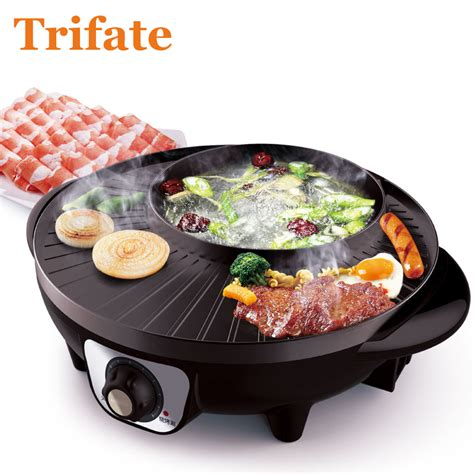 multifunctional  electric pan grill bbq grill