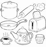 Coloring Pages Kitchen Ck Ot7 Ru Source sketch template