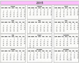 2015 calendar printable year planner 2015 yearly With 2015 yearly calendar template