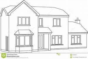 Haus Strichzeichnung Einfach : haus vektor abbildung bild von zeitgen ssisch haus 20409257 ~ Watch28wear.com Haus und Dekorationen