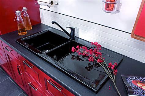 evier cuisine noir 1 bac quel évier choisir galerie photos d 39 article 6 9
