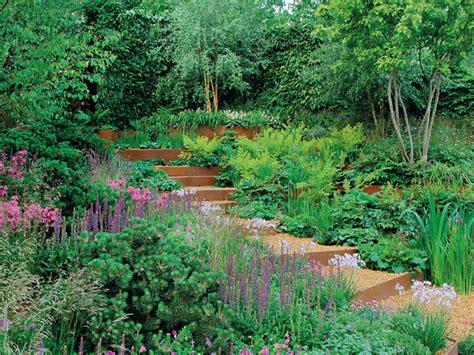 Garten Am Hang  Gartengestaltung Dekoration