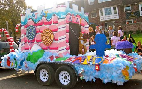 mizzou dg homecoming house decorations  float