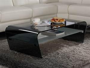 Table Basse Vente Unique : table basse verre tremp achat en ligne ~ Nature-et-papiers.com Idées de Décoration