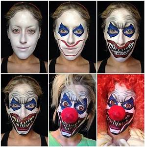Scary Halloween Makeup Tutorials - Easyday