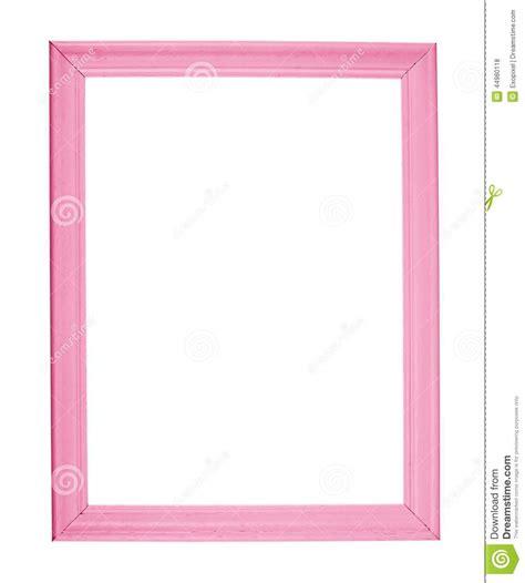 cadre de photo de la taille a4 d isolement photo stock