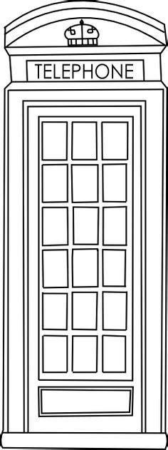 telephone box clipart clipground