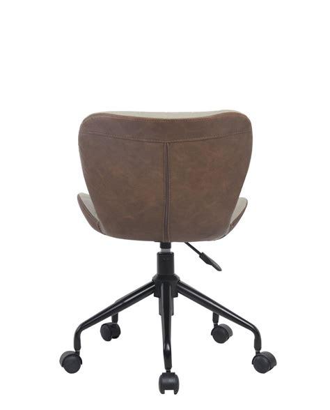 chaise de designer cara chaise de bureau design pivotante kayelles com
