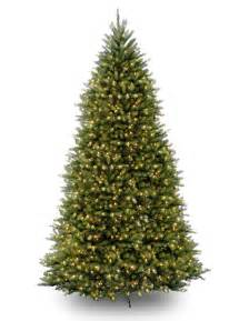 12ft pre lit dunhill fir artificial christmas tree hayes garden world