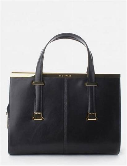 Bar Bag Ted Baker Tote Leather Metal
