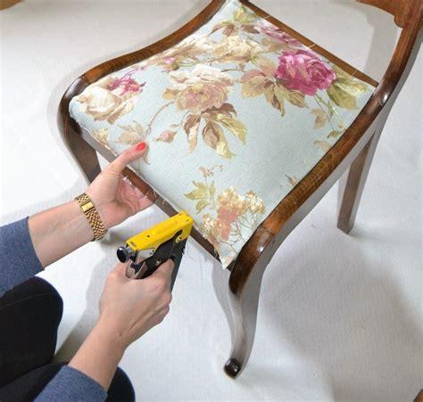 telas para tapizar sillas de comedor tutorial para tapizar silla con video telas divinas
