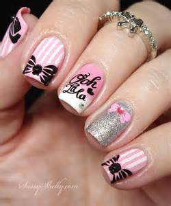 world of nail design bow nail bundle sting around the world plate bm xl 153 sassy shelly