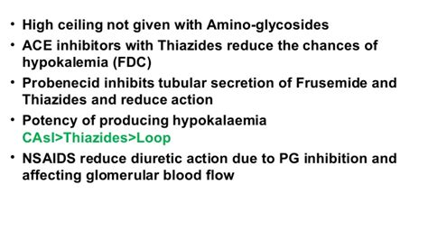 High Ceiling Diuretics Side Effects by Lecture 2 Adithan Diuretics July 29 2016 Mgmcri