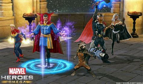 marvel heroes omega closed beta begins  ps