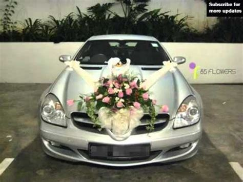 wedding car flowers collection of decor picture ideas
