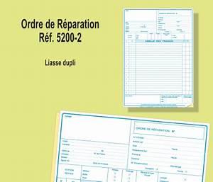 Ordre De Réparation : ordre de r paration dupli conorga ~ Medecine-chirurgie-esthetiques.com Avis de Voitures