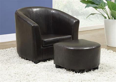 fauteuil enfant simili cuir fauteuil simili cuir enfant brun enfant