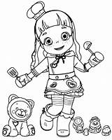 Ruby Coloring Pages Choco Rainbow Little Printable Coloringpagesfortoddlers Lovely Print Teen Animation Dari Disimpan sketch template