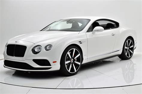 bentley 2017 white best new 2017 bentley continental gt v8 s for sale 229945